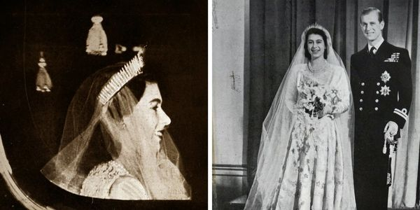 The pair married on Nov. 20, 1947, at Westminster Abbey -- an event many in Great Britain anticipated greatly after many&nbsp