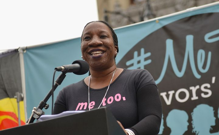 Activist Tarana Burke created the #MeToo movement 10 years ago.