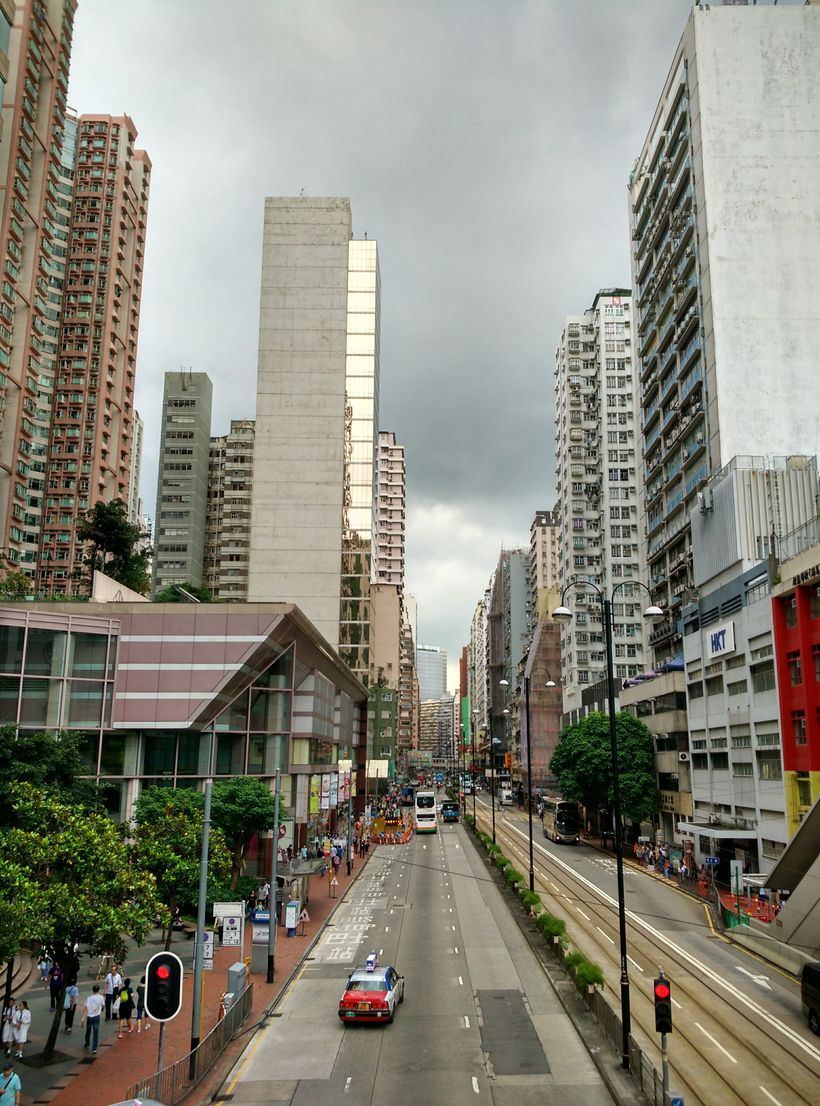 North Point street view, Hong Kong