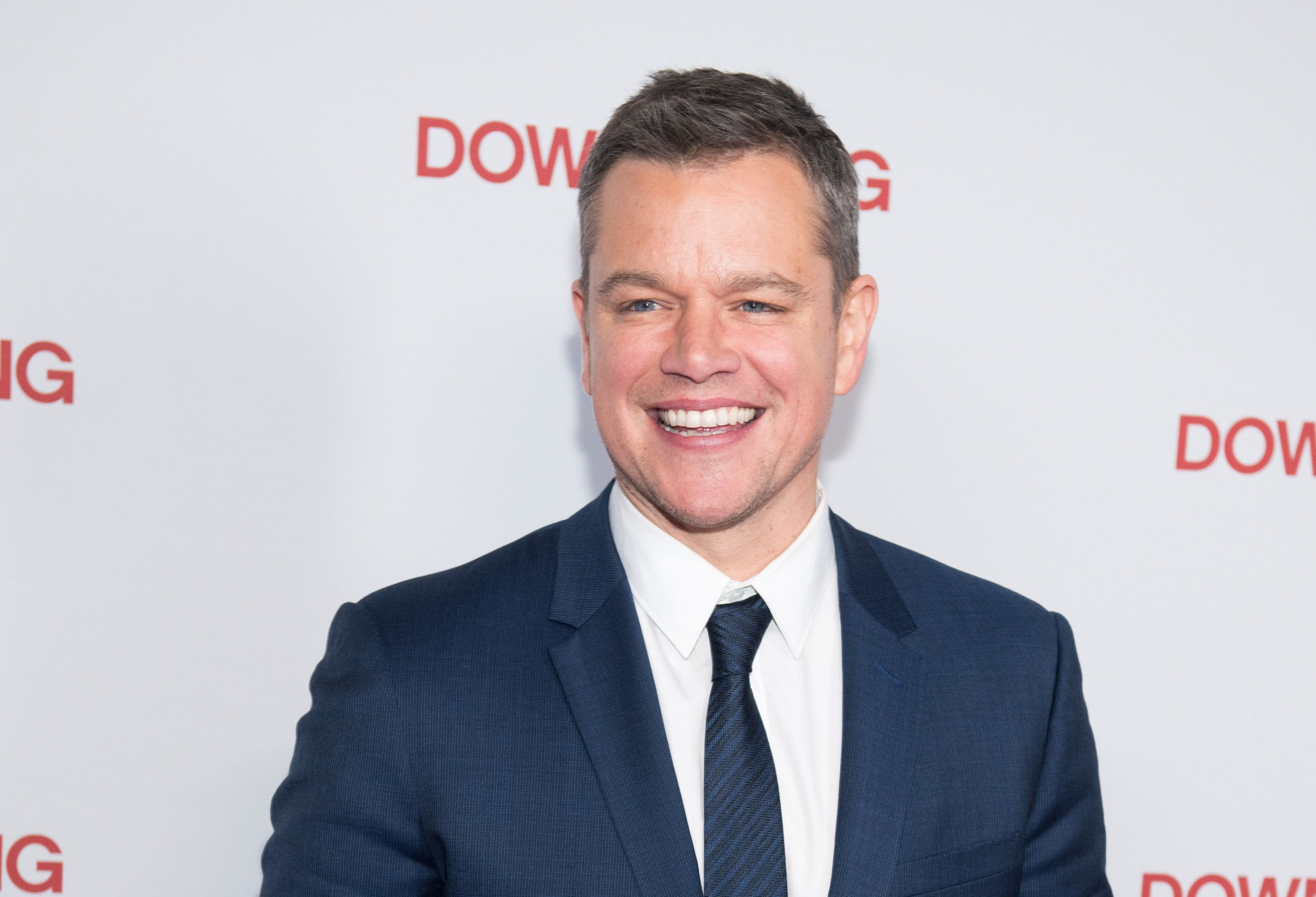 NEW YORK, NY - DECEMBER 11:  Actor Matt Damon attends the 'Downsizing' New York screening at AMC Lincoln Square Theater on December 11, 2017 in New York City.  (Photo by Noam Galai/WireImage)