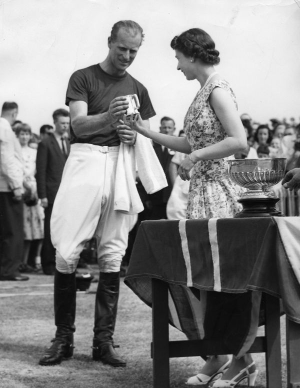"""The couple, pictured here at a polo match in 1957, had trouble adjusting totheir new lives.<br><br>""""Elizabeth had"""