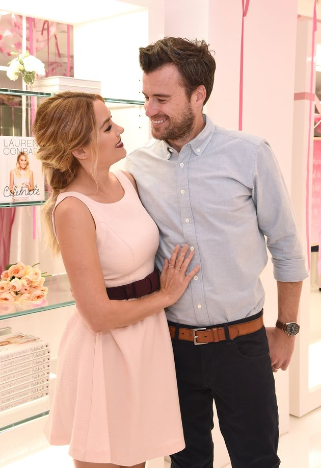 Lauren Conrad and husband William Tell atConrad's book launch party in