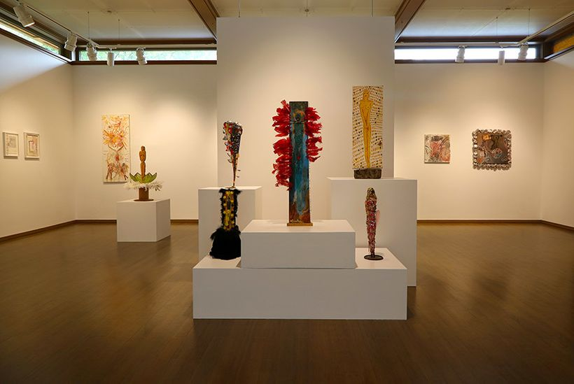<em>Installation view</em> (photo: courtesy of James Barron Art)