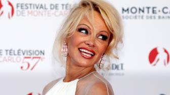 Actress Pamela Anderson attends the opening ceremony of the 57th Monte-Carlo Television Festival in Monaco, June 16, 2017.                REUTERS/Eric Gaillard