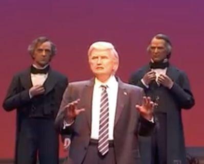 Le robot Trump de Disney a l'air plus présidentiel que le