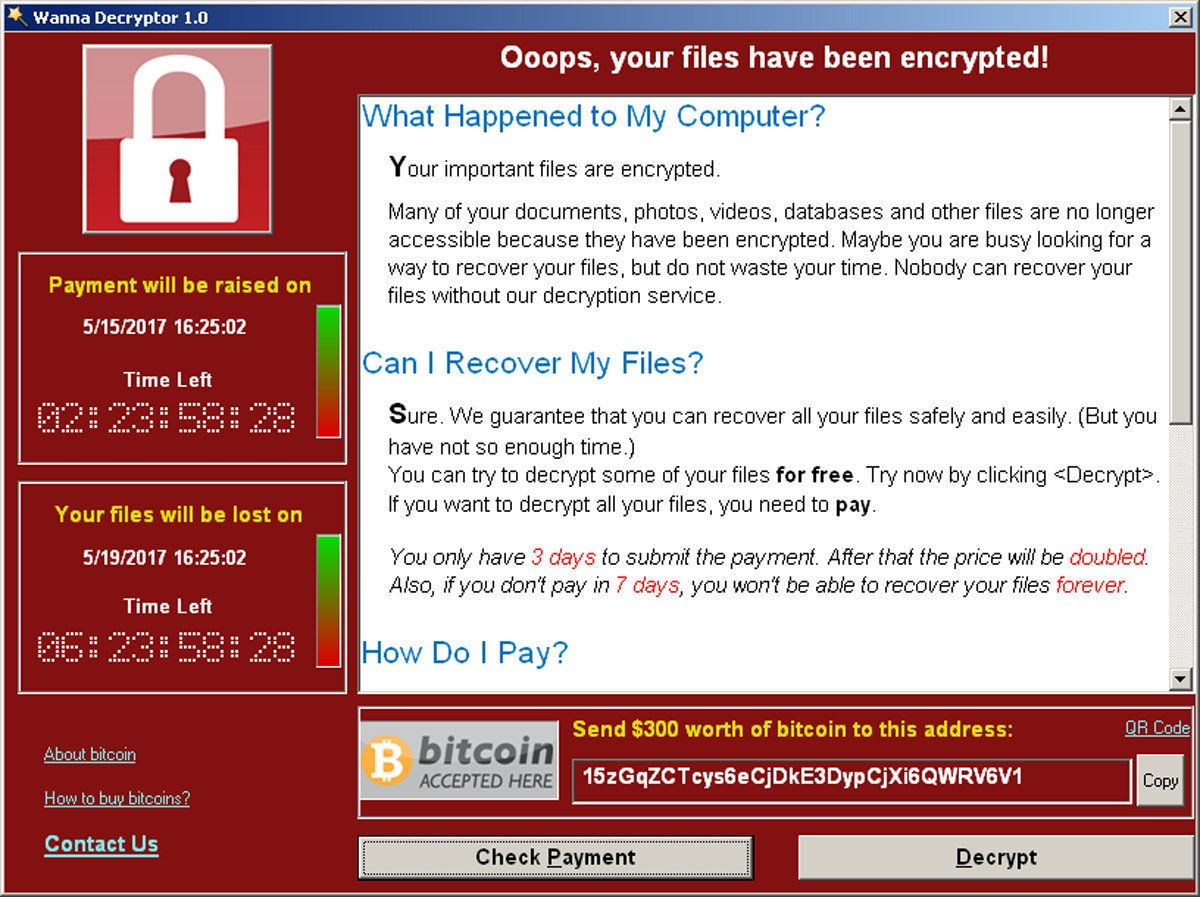 White House blames North Korea for 'Wannacry' ransomware attack