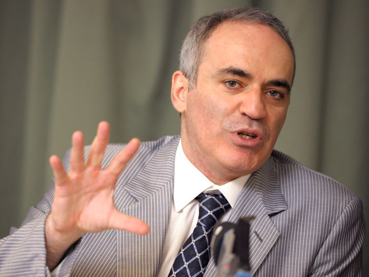 Former chess world champion Garry Kasparov said he's concerned that Americans are allowing Trump to turn the U.S. into Russia