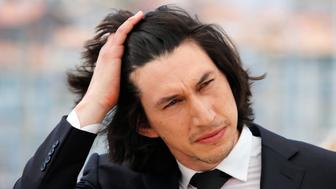 "Cast member Adam Driver poses during a photocall for the film ""Paterson"" in competition at the 69th Cannes Film Festival in Cannes, France, May 16, 2016.   REUTERS/Jean-Paul Pelissier"