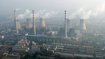 An aerial view shows a coal-burning power plant on the outskirts of Zhengzhou, Henan province, China, August 28, 2010.     REUTERS/Stringer/File Photo  CHINA OUT. NO COMMERCIAL OR EDITORIAL SALES IN CHINA