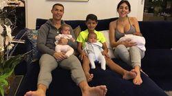 Cristiano Ronaldo's Girlfriend Georgina Rodriguez Shares Family Photo On Instagram With 4