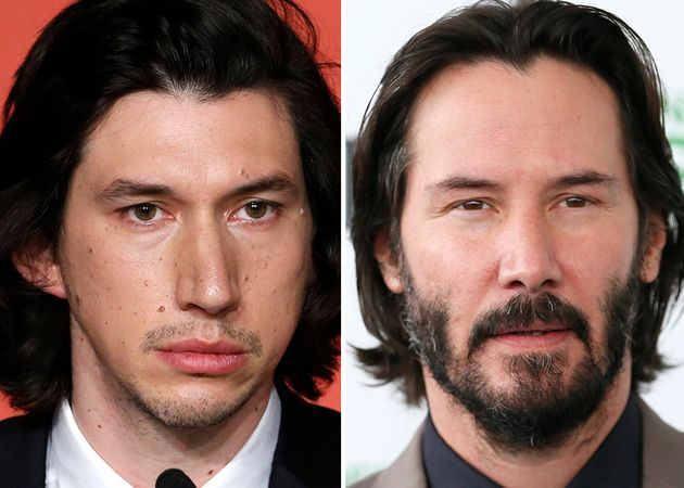 This Keanu Reeves-Adam Driver 'Face Swap' May Be Just A Jedi Mind