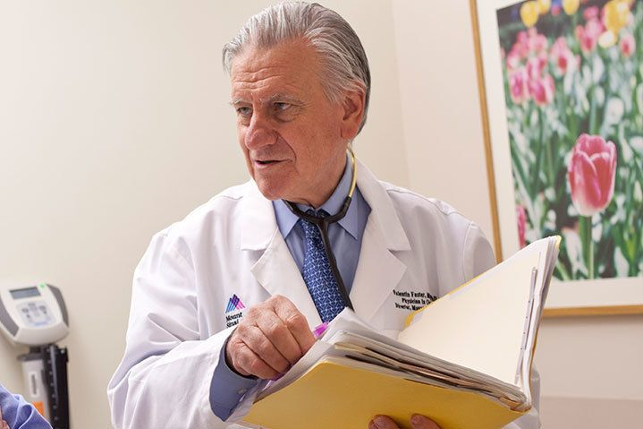 Valentin Fuster, MD, PhD Physician In Chief The Mount Sinai Hospital  Director Of Mount Sinai Heart