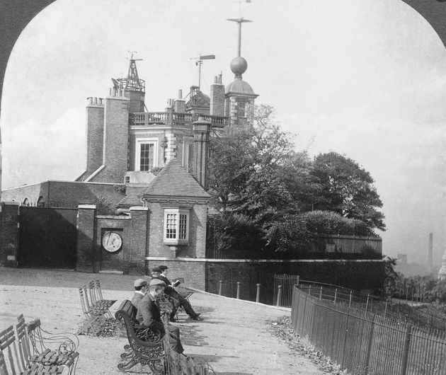 A time ball at the Royal Observatory in