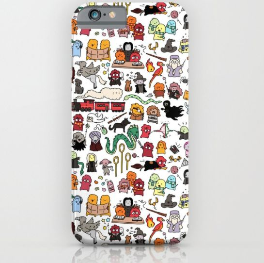 "Get it <a href=""https://society6.com/product/kawaii-harry-potter-doodle_iphone-case?sku=s6-2906037p20a9v375a52v377"" target=""_"