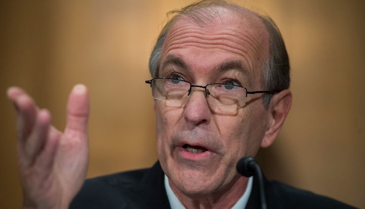 Former Rep. Scott Garrett (R-N.J.) failed in his bid to head the Export-Import Bank.