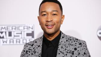 Musician John Legend arrives at the 2016 American Music Awards in Los Angeles, California, U.S., November 20, 2016. REUTERS/Danny Moloshok