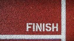Η γραμμή τερματισμού δεν είναι ο στόχος. Είναι η