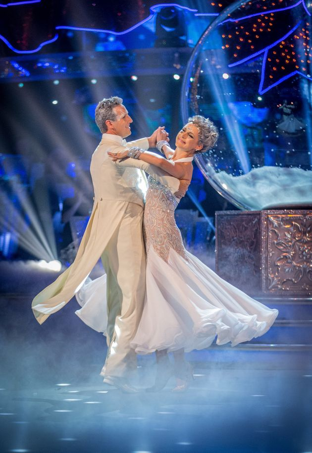 Katie Derham and Brendan Cole have won the 2017 'Strictly' Christmas