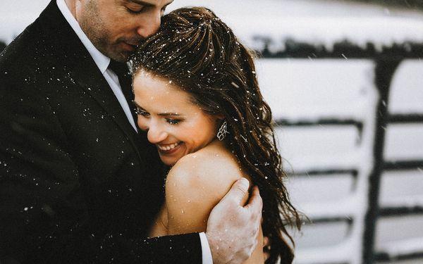 31 photos de mariages d'hiver qui semblent sortis d'un conte de