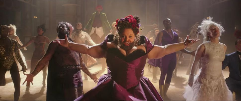 "Keala Settle portrays Lettie Lutz, the bearded lady, in ""The Greatest Showman."""