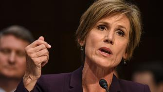 WASHINGTON, DC - MAY 8: Former Acting Attorney General Sally Yates testifies before the Senate Judiciary Committee subcommittee hearing on Russian interference in the 2016 election, on May, 08, 2017 in Washington, DC. (Photo by Bill O'Leary/The Washington Post via Getty Images)