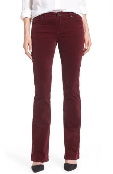 """<a href=""""https://shop.nordstrom.com/s/kut-from-the-kloth-baby-bootcut-corduroy-jeans-regular-petite/4840127?origin=category-p"""