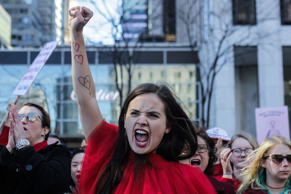 Image result for images of angry women protesters