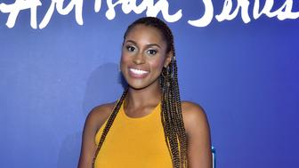 MIAMI BEACH, FL - DECEMBER 08:  Issa Rae attends the 8th Annual Bombay Sapphire Artisan Series Finale Hosted By Issa Rae at Villa Casa Casuarina on December 8, 2017 in Miami Beach, Florida.  (Photo by Sean Zanni/Patrick McMullan via Getty Images)