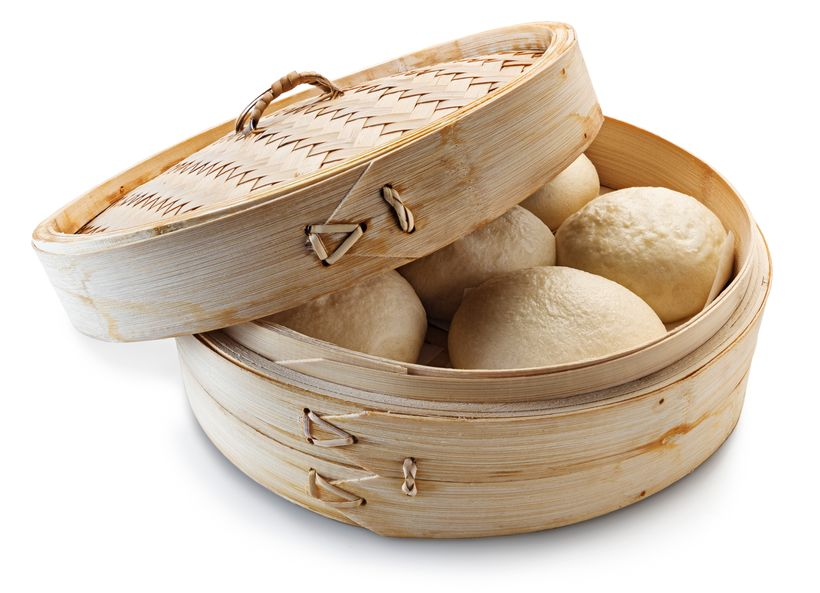 Steamed Bao from <em>Modernist Bread </em>by Nathan Myhrvold and Francisco Migoya