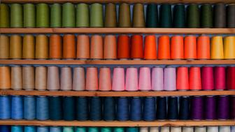sewing, colorful, order