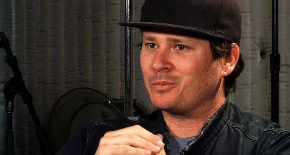 Tom DeLonge during an interview with OpenMinds.tv.