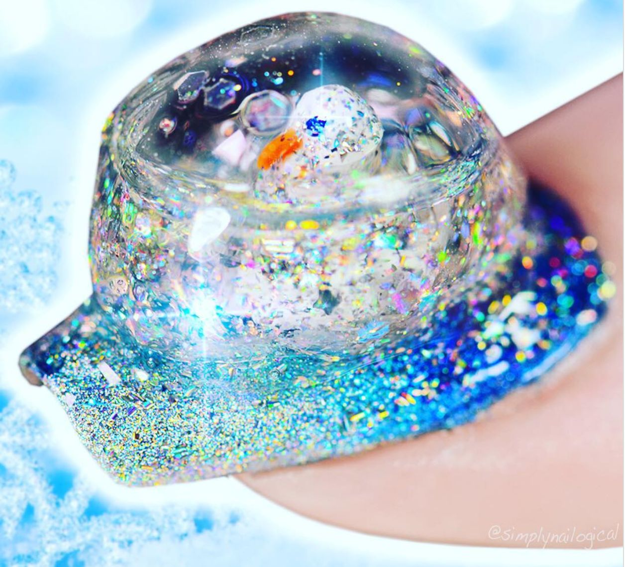 You Know 2017 Is Not Done Yet Because Random Beauty Trends Are Still Here: Snow Globe