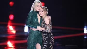 THE VOICE -- 'Live Finale' Episode 1321B -- Pictured: (l-r) Chloe Kohanski, Addison Agen -- (Photo by: Tyler Golden/NBC/NBCU Photo Bank via Getty Images)