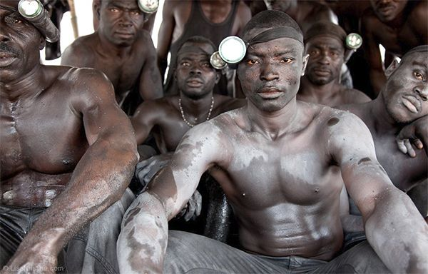 Gold Mining Slavery in Africa