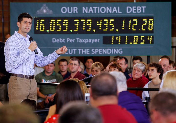 Paul Ryan on the campaign trail in 2012 as the Republican vice presidential candidate.