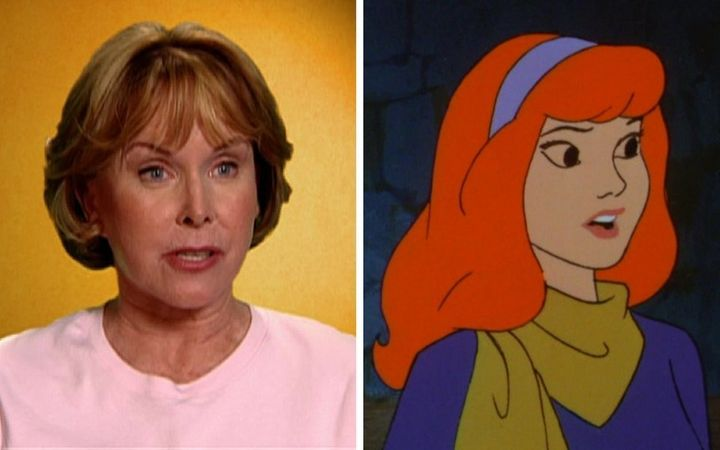 Heather North and the character she famously portrayed, Daphne Blake.