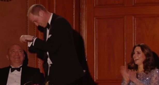 Prince William's Antics Steal Show at Royal Variety Performance