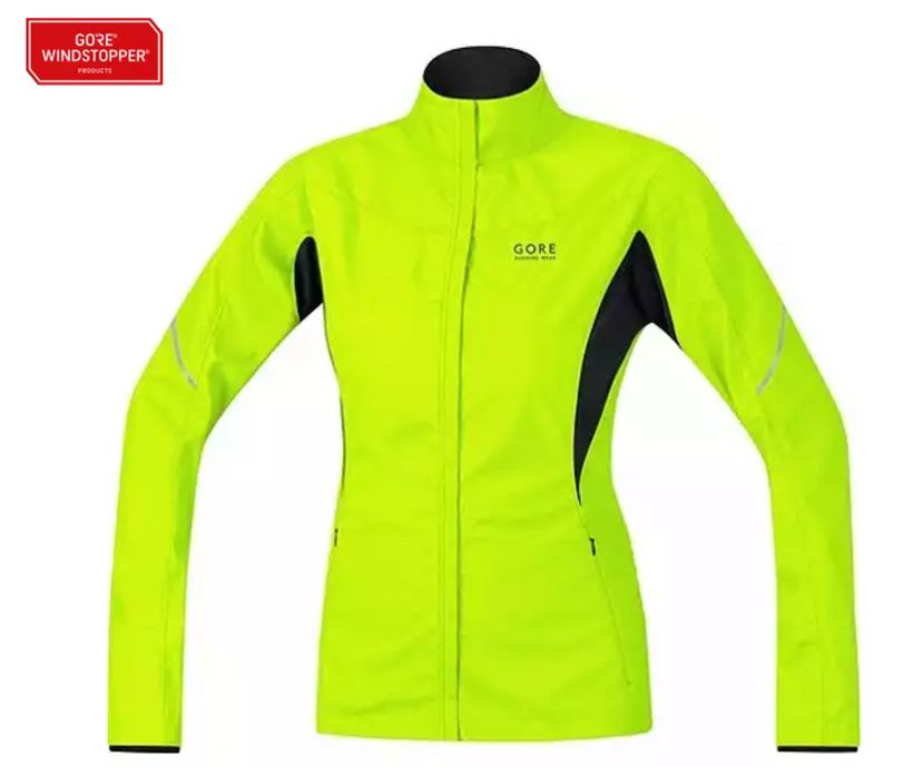 <strong>Gore's ESSENTIAL LADY WINDSTOPPER® ACTIVE SHELL PARTIAL JACKET</strong>