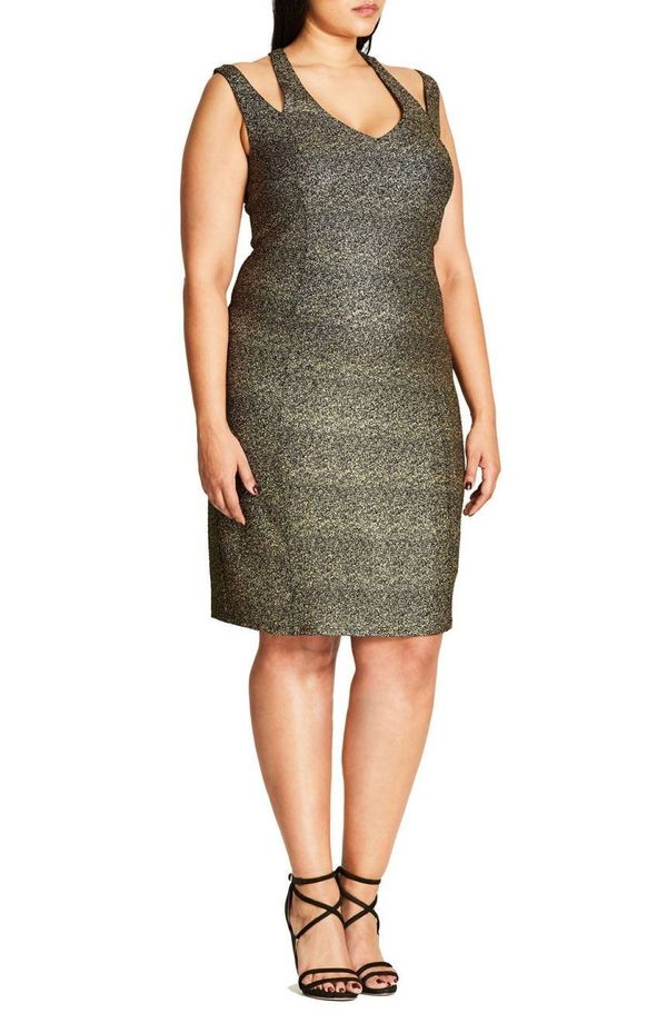 """<a href=""""https://shop.nordstrom.com/s/city-chic-metallic-glam-body-con-dress-plus-size/4509714?origin=category-personalizedso"""
