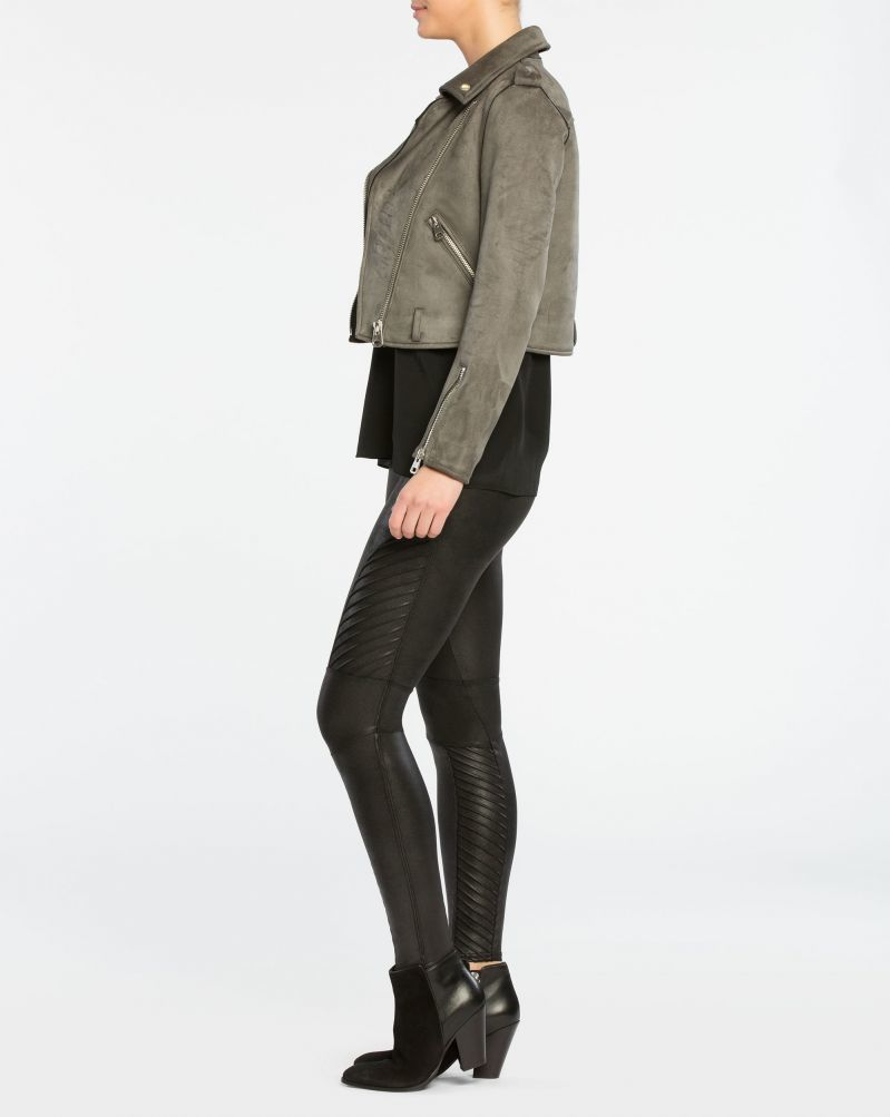 <strong>Spanx Faux Leather Moto Leggings </strong>