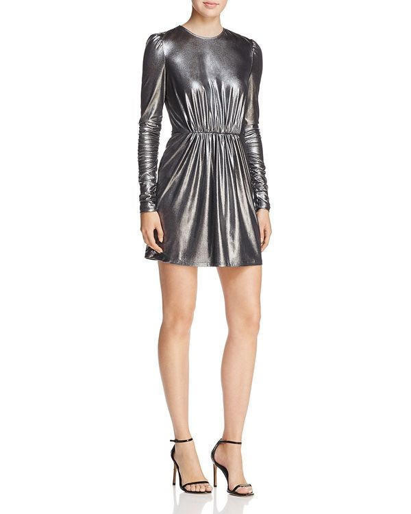 "<a href=""https://www.bloomingdales.com/shop/product/aqua-shirred-metallic-mini-dress-100-exclusive?ID=2733068&CategoryID="