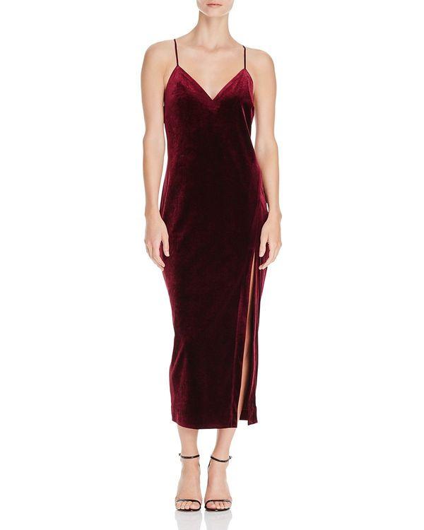 "<a href=""https://www.bloomingdales.com/shop/product/bardot-raven-velvet-cami-dress?ID=1828385&CategoryID=1005212#fn=PRICE"