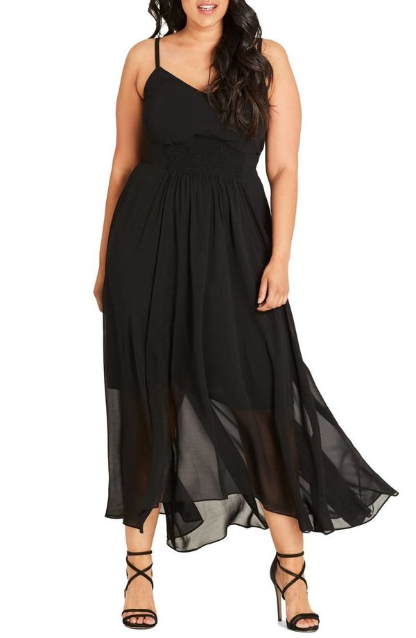 """<a href=""""https://shop.nordstrom.com/s/city-chic-smocked-waist-maxi-dress-plus-size/4608350?origin=category-personalizedsort&a"""