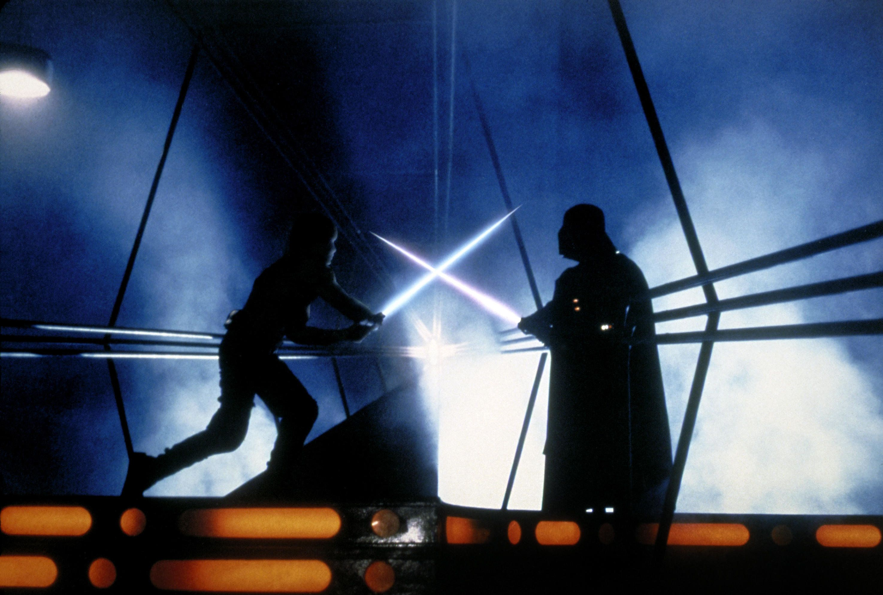 JTEFN4 MARK HAMILL & DAVID PROWSE STAR WARS: EPISODE V - THE EMPIRE STRIKES BACK (1980)