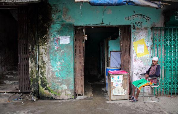 Doyagonj public toilet, Dhaka,