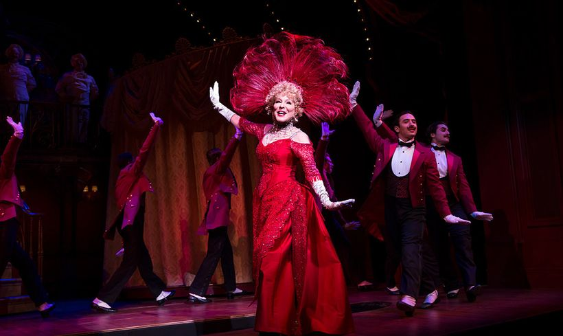 Bette Midler in <em>Hello, Dolly!</em>