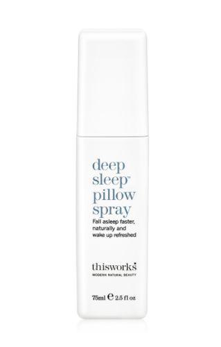 """Get it <a href=""""https://www.dermstore.com/product_Deep+Sleep+Pillow+Spray_67909.htm"""" target=""""_blank"""">here</a>."""