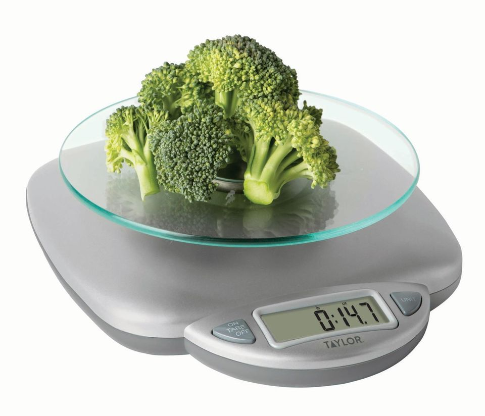 A Food Scale So They Can Keep Those Healthy 2019 Resolutions
