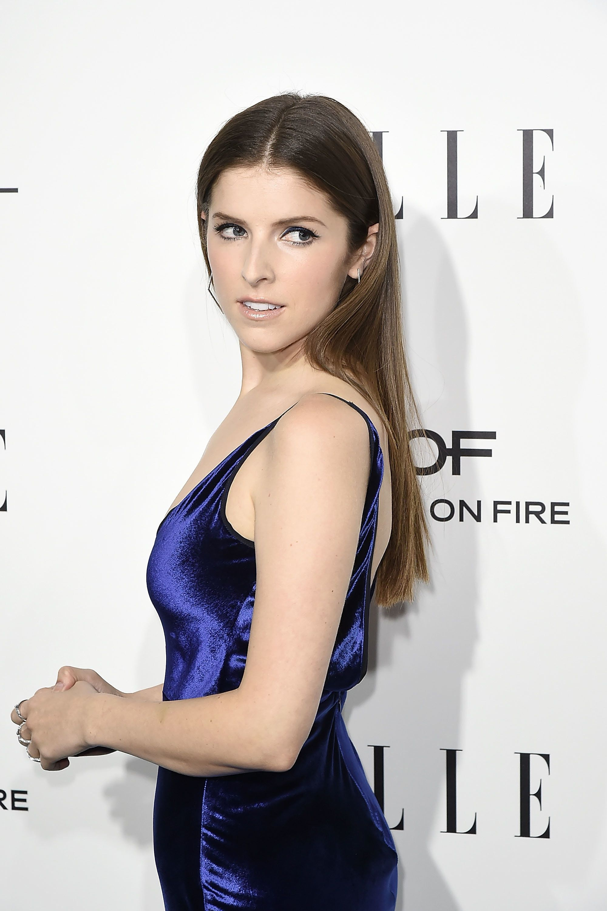BEVERLY HILLS, CA - OCTOBER 24:  Anna Kendrick attends the 23rd Annual ELLE Women In Hollywood Awards - Arrivals at The Four Seasons Hotel on October 24, 2016 in Beverly Hills, California.  (Photo by David Crotty/Patrick McMullan via Getty Images)