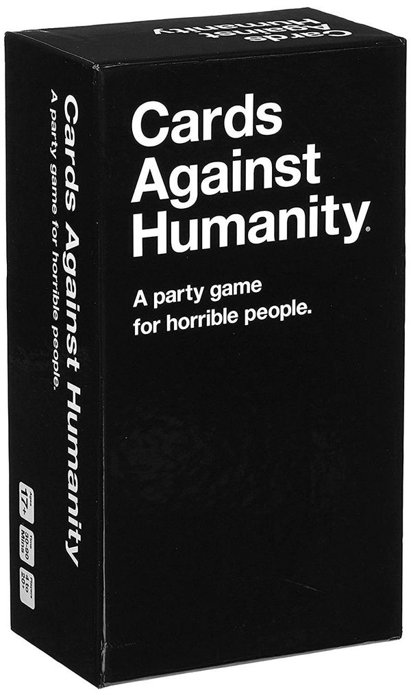 "Get it <a href=""https://www.amazon.com/Cards-Against-Humanity-LLC-CAHUS/dp/B004S8F7QM/ref=zg_bs_toys-and-games_home_2?_encodi"